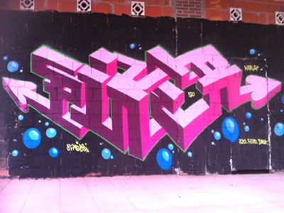 Piker Graffiti Cúbico