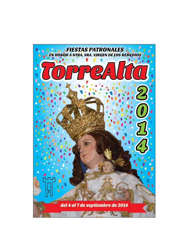 diseño portada libro fiestas patronales