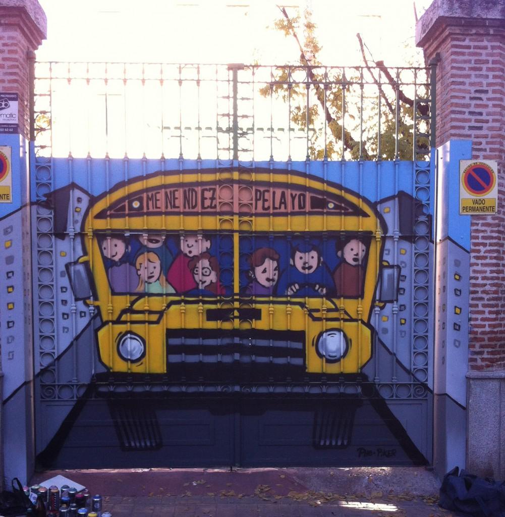 Autobus Ruta juvenil