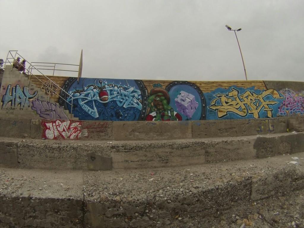 Graffiti Marinero Piker & Nohek