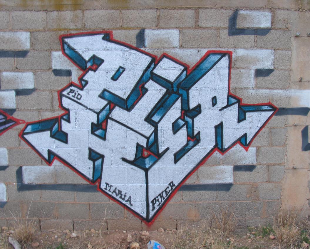 PIKER CUBICO PLATA