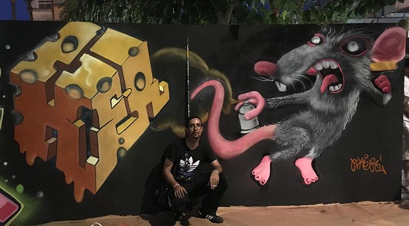 pikerone graffiti