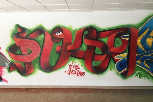 Piker graffitero profesional con Ash y Nohek