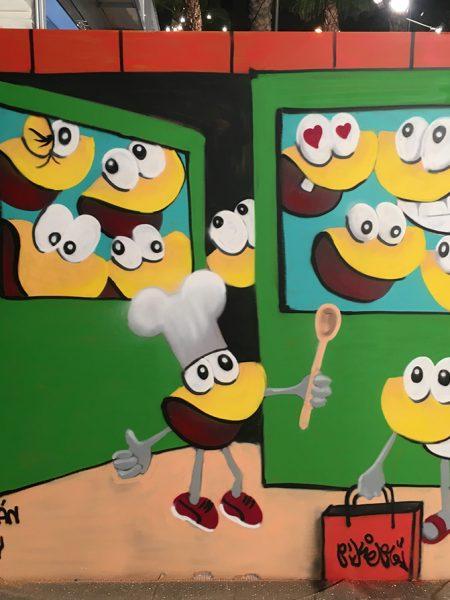 taller de graffiti con niños clams