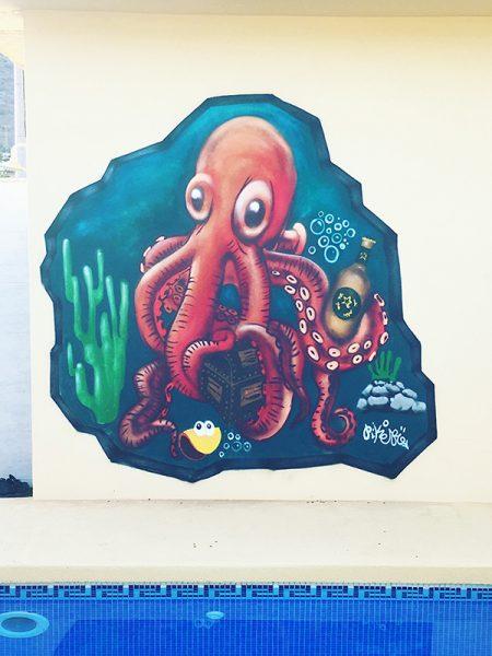 pikerone kraken graffiti profesional