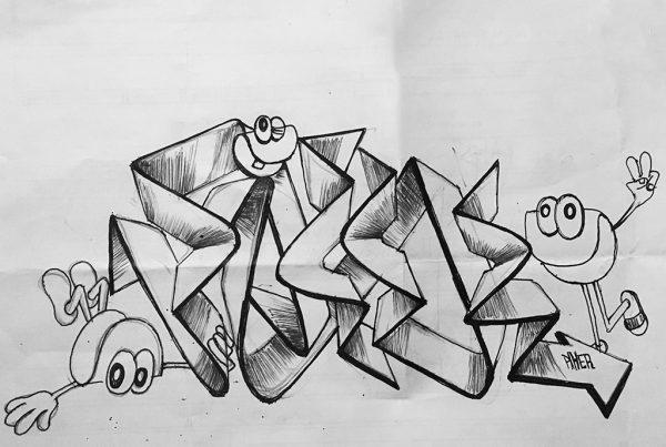 piker & clams sketch book