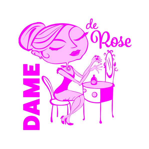 logotipo dame de rose
