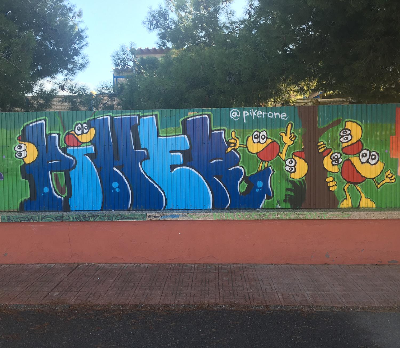 piker clams octubre joven aguilas 2018 almejas graffiti