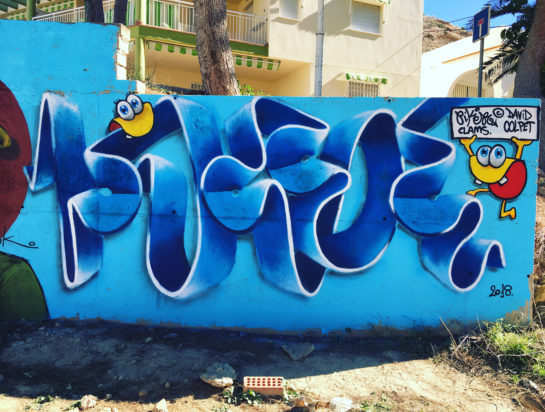 piker one, the clams ©, terreros Almería