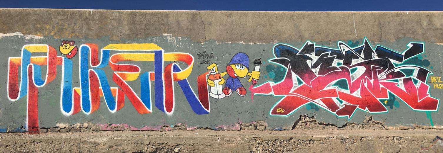 graffiti piker & mezcla