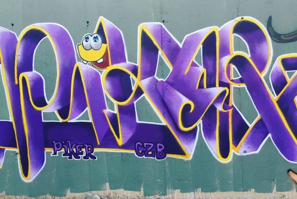 graffiti by piker czb