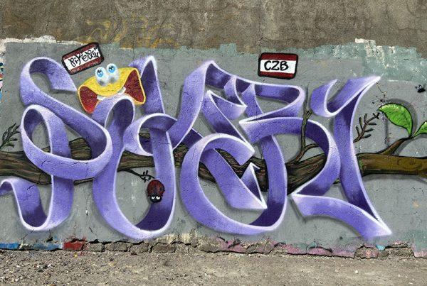 graffiti piker miniatura