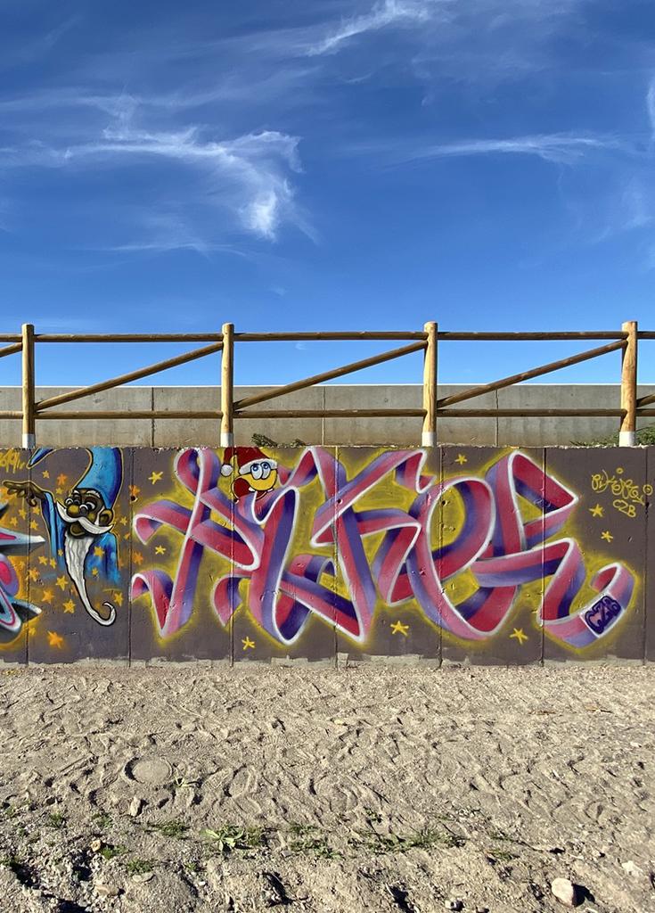 Pieza Graffiti Piker CZB