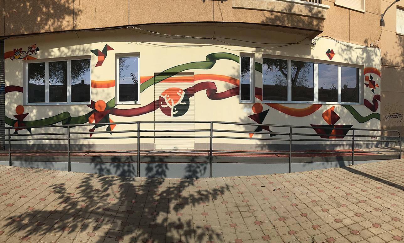 graffiti decorativo AFEMAC