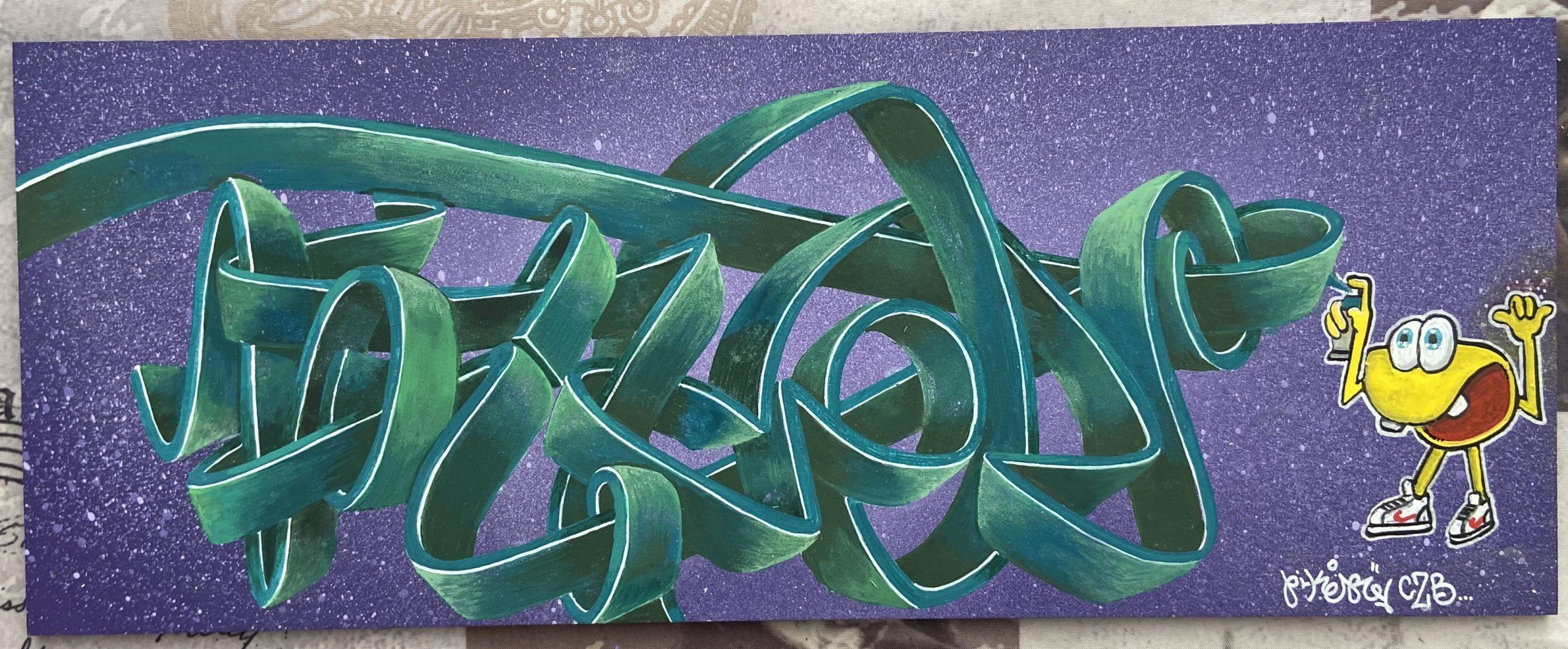 STREET ART PIKER CZB