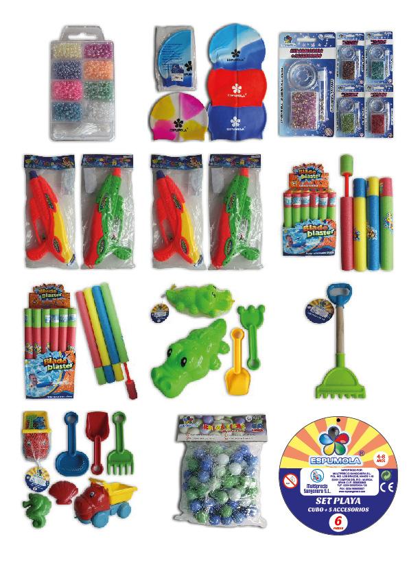 packaging artículos de playa