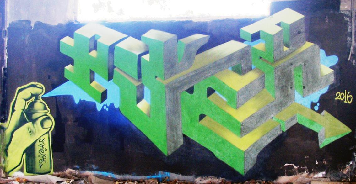 Graffiti-Alcantarilla-PIKERONE