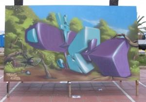 Graffiti de Tras Czb